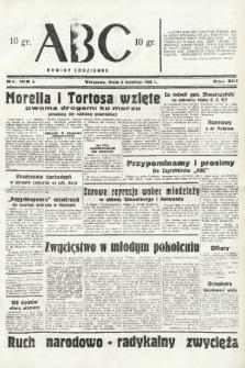 ABC : nowiny codzienne. 1938, nr106 A  PDF 