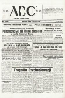 ABC : nowiny codzienne. 1938, nr109 A |PDF|