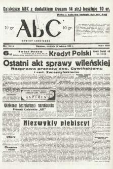 ABC : nowiny codzienne. 1938, nr111 A |PDF|