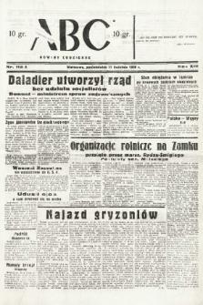 ABC : nowiny codzienne. 1938, nr112 A |PDF|