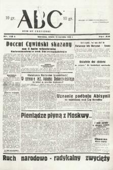 ABC : nowiny codzienne. 1938, nr113 A |PDF|