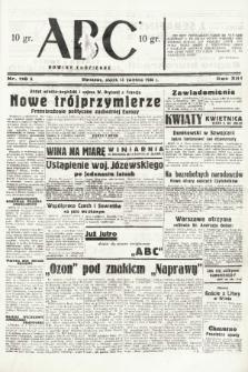ABC : nowiny codzienne. 1938, nr116 A |PDF|