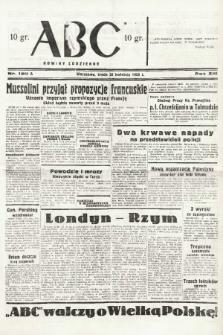 ABC : nowiny codzienne. 1938, nr120 A |PDF|