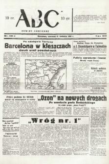 ABC : nowiny codzienne. 1938, nr121 A |PDF|