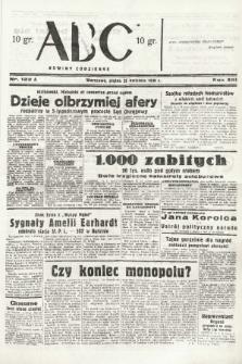 ABC : nowiny codzienne. 1938, nr122 A |PDF|