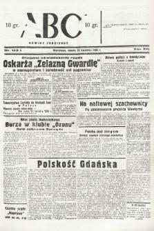 ABC : nowiny codzienne. 1938, nr123 A |PDF|