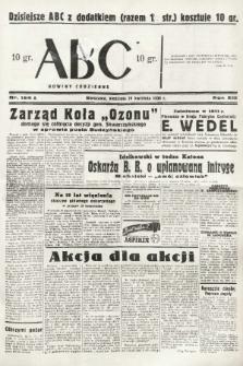 ABC : nowiny codzienne. 1938, nr124 A |PDF|
