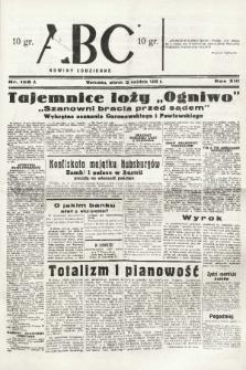 ABC : nowiny codzienne. 1938, nr126 A |PDF|
