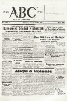 ABC : nowiny codzienne. 1938, nr127 A |PDF|