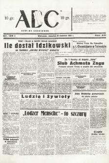 ABC : nowiny codzienne. 1938, nr128 A |PDF|