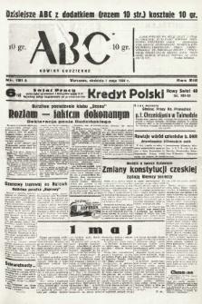 ABC : nowiny codzienne. 1938, nr131 A |PDF|