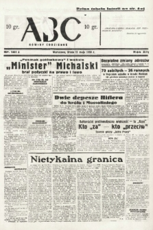 ABC : nowiny codzienne. 1938, nr141 A |PDF|