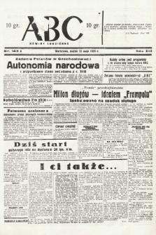 ABC : nowiny codzienne. 1938, nr143 A  PDF 