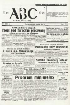ABC : nowiny codzienne. 1938, nr144 A |PDF|
