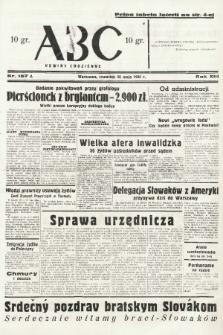 ABC : nowiny codzienne. 1938, nr157 A |PDF|