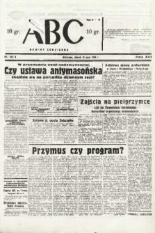 ABC : nowiny codzienne. 1938, nr162 A |PDF|