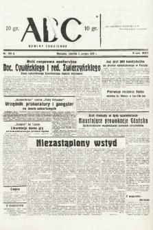 ABC : nowiny codzienne. 1938, nr164 A |PDF|