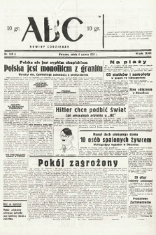 ABC : nowiny codzienne. 1938, nr166 A |PDF|