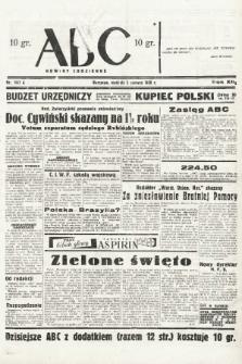 ABC : nowiny codzienne. 1938, nr167 A |PDF|
