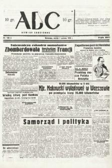 ABC : nowiny codzienne. 1938, nr168 A |PDF|