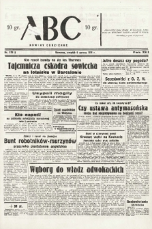 ABC : nowiny codzienne. 1938, nr170 A |PDF|