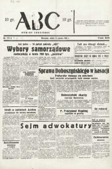 ABC : nowiny codzienne. 1938, nr172 A |PDF|