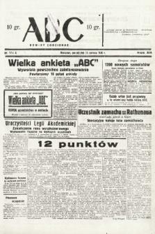 ABC : nowiny codzienne. 1938, nr174 A |PDF|
