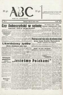 ABC : nowiny codzienne. 1938, nr176 A |PDF|
