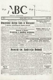 ABC : nowiny codzienne. 1938, nr178 A  PDF 