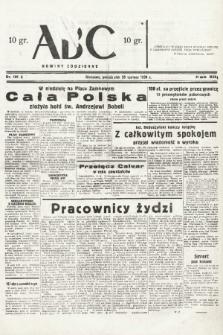 ABC : nowiny codzienne. 1938, nr181 A |PDF|