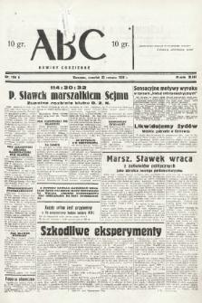 ABC : nowiny codzienne. 1938, nr184 A |PDF|