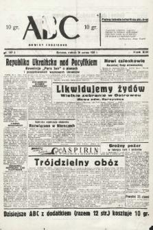 ABC : nowiny codzienne. 1938, nr187 A |PDF|