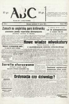 ABC : nowiny codzienne. 1938, nr188 A  PDF 