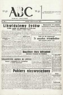 ABC : nowiny codzienne. 1938, nr189 A |PDF|