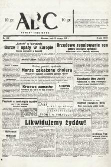 ABC : nowiny codzienne. 1938, nr190  PDF 