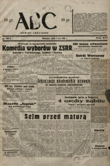 ABC : nowiny codzienne. 1938, nr192 A |PDF|