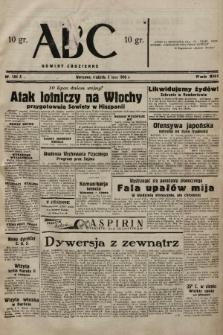 ABC : nowiny codzienne. 1938, nr194 A |PDF|