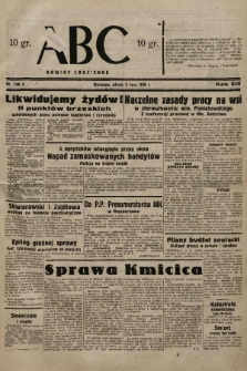 ABC : nowiny codzienne. 1938, nr196 A |PDF|
