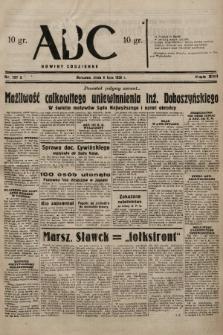 ABC : nowiny codzienne. 1938, nr197 A |PDF|