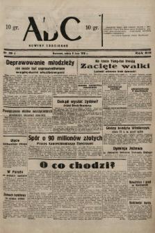 ABC : nowiny codzienne. 1938, nr200 A |PDF|