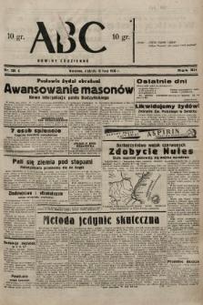 ABC : nowiny codzienne. 1938, nr201 A |PDF|