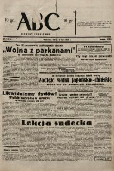 ABC : nowiny codzienne. 1938, nr203 A |PDF|
