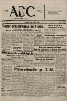 ABC : nowiny codzienne. 1938, nr206 A |PDF|
