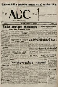 ABC : nowiny codzienne. 1938, nr208 A |PDF|