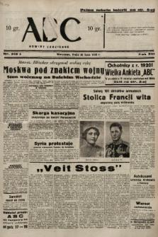 ABC : nowiny codzienne. 1938, nr212 A |PDF|