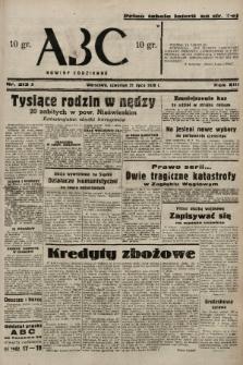 ABC : nowiny codzienne. 1938, nr213 A |PDF|