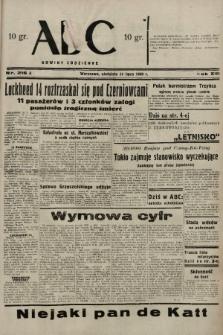 ABC : nowiny codzienne. 1938, nr216 A |PDF|