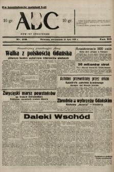 ABC : nowiny codzienne. 1938, nr218 A [ocenzurowany] |PDF|