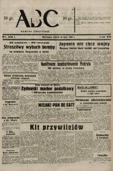 ABC : nowiny codzienne. 1938, nr219 A |PDF|