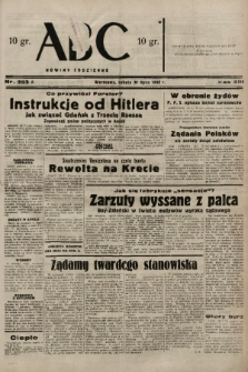 ABC : nowiny codzienne. 1938, nr223 A  PDF 